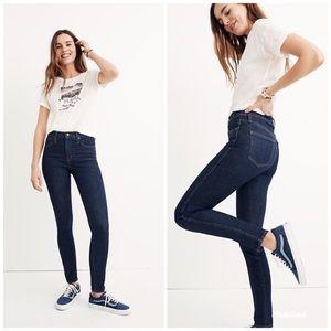 "[Madewell] 10"" High Rise Skinny Jeans"